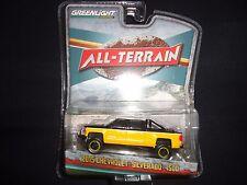 Greenlight Chevrolet Silverado 1500 2015 Yellow All Terrain Series 35020 1/64