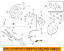 TOYOTA OEM 12-17 Prius V Brake-Rear-ABS Sensor Nut 9415010641