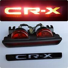 "88-91 Honda CR-X Edition 3rd Brake Light ""CRX"" JDM / EDM / UKDM Logo Overlay MK2"