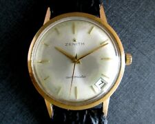 Zenith Vintage 1965 Mechanical Automatic Gold Filled Bezel Men's Watch 2542PC Mv