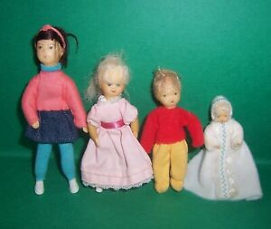 VINTAGE DOLLS HOUSE ERNA MEYER CHILDREN & BABY DOLLS