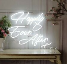Happily Ever After Neon LED Acrylic Sign