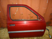 2004 NISSAN XTERRA FRONT RIGHT PASSENGER SIDE DOOR SHELL ELECTRIC THERMAL RED