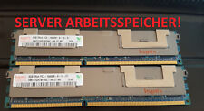16GB Hynix  HMT31GR7BFR4C-H9 (2x8GB) HP 500205-071 PC3-10600R (DDR3-1333) Server