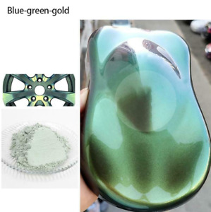 Chameleon Color Changing Pearl Powder For bicycle Car Paint Pigment 10g Bush