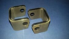 Weld On FOOTREST MOUNTING BRACKETS Hangers Pegs Trials Pre 65 Twinshock MX ADV