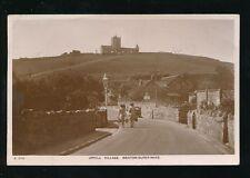 Somerset Weston-super-Mare UPHILL Village Used 1948 RP PPC