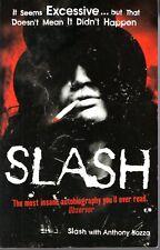 More details for slash (guns n' roses) ~ hand signed autograph in book ~ aftal registered dealer