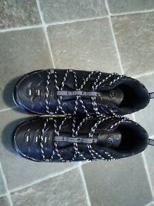 Men's Black /White Chunky Fashion Trainers Brand New Size 8 (42)