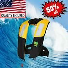 50%OFF Premium Automatic Inflatable Life Jacket Lifevest PFD Boating Fishing NEW