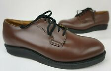 Red Wing 9101 Postman Oxford Chocolate Brown Chaparral Men's Shoes Size 8.5 D