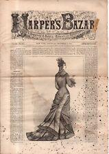 1876 Harper's Bazar December 2 - Roller Skating suits;Shanghai China;Jack in Box
