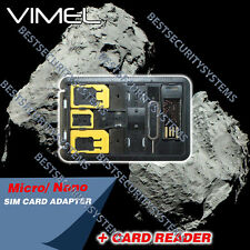 SIM card converter Nano card reader USB micro SD 128GB 64GB 32GB
