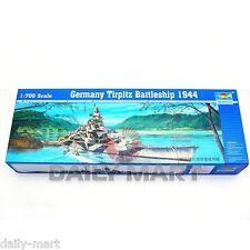 Trumpeter 1/700 05712 Germany Tirpitz Battleship 1944 Model Kit