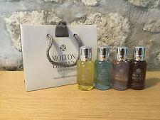 Molton Brown Ltd Ed señoras lavado de cuerpo/Gel de ducha/conjunto de regalo de lavado a mano 4 X 30ml