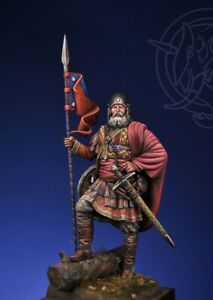 75mm Romeo Models NOVGORODIAN MOUNTED SOTNIK Russia, 1363-1386 *MINT*