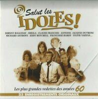 CD SALUT LES IDOLES LES PLUS GRANDES VEDETTES DES ANNÉES 60 2570