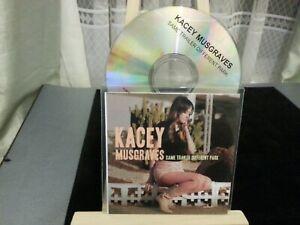 Kacey Musgraves - Same Trailer Different Park (RARE UK FULL PROMO CD ALBUM)