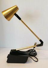 TENSOR Diax Model 7100 Folding Gooseneck Articulating Table Lamp Vintage