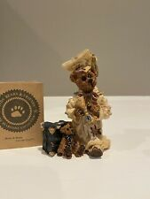 Boyds Bears Bearstone Figurine Bailey the Graduate - Carpe Diem #227701-10 Box