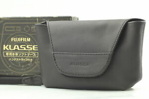 BOXED[Unused] Genuine Soft Leather Case & Strap for Fuji Klasse S W From JAPAN