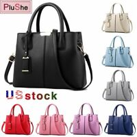 Women Lady Handbag Shoulder Bag Leather Tote Purse Messenger Hobo Bag Satchel US