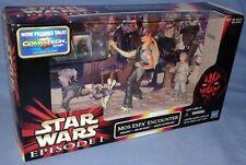 Star Wars Mos Espa Encounter Episode 1 set w/ Sebulba & Jar Jar, Hasbro sealed