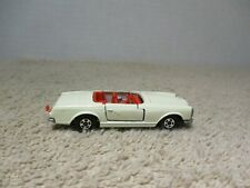 VINTAGE MATCHBOX / LESNEY ~ 1/64 ~ LOOSE ~ #27 MERCEDES 230 SL WHITE