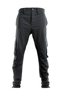 Ridgemonkey APEarel Dropback Cargo Pants Grey ALL Size NEW Carp Fishing Clothes