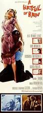 A HATFUL OF RAIN Movie POSTER 14x36 Insert Don Murray Eva Marie Saint Anthony