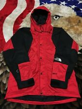 Vtg 90s The North Face Goretex Red Colorblock Mountain Light Jacket L Guide 80s