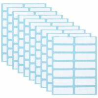 Sticky White Name Stickers Blank Note Labels Name Number Tags Price Sticker