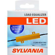 2-PK SYLVANIA Load Equalizer - eliminate hyper flash caused by LED bulbs