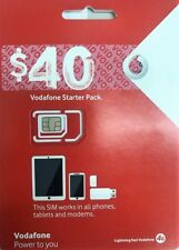 Vodafone $40 kit *OFFER BUY 4 GET 1 FREE* UL calls&text 6GB data 90min intl call