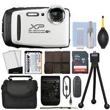 Fujifilm FinePix XP130 16.4MP Digital Camera White Full-HD + 16GB Kit