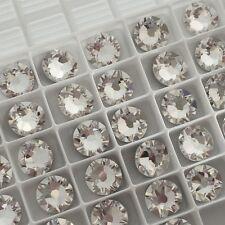 SWAROVSKI CRYSTALS 50 x SS30 CLEAR flatbacks diamantes rhinestones GLUE ON #2088