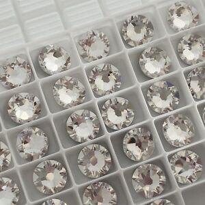 Swarovski Crystals Glue on 50 x SS30 Clear gems flatbacks diamantes rhinestones