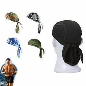 Cycling Cap Turban Quick Dry Pure Head Scarf  Running Riding Bandana Headscarf