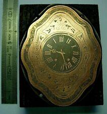 Gravure sur Cuivre horloge clock uhr Oeil boeuf Comtoise watchmaker Uhrmacher 2