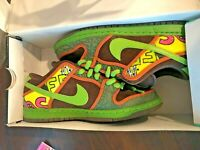2015 Nike Dunk Low Premium DLS SB QS DE LA SOUL SAFARI BROWN ALTITUDE GREEN 8.5