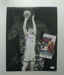 Tyler Herro Miami Heat Signed Autographed NBA Star 11x14 Photo JSA