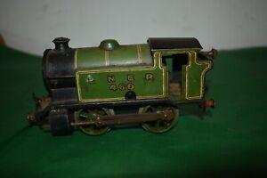 Vintage Hornby Meccano Type 101 LNER 460 Clockwork Toy Train.