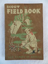 James E. West SCOUT FIELD BOOK Boy Scouts Of America c. 1944