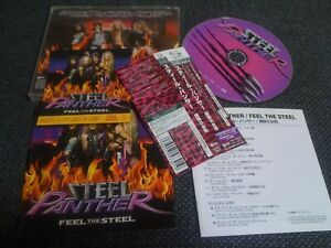 STEEL PANTHER / feel the steel / JAPAN LTD CD OBI sticker