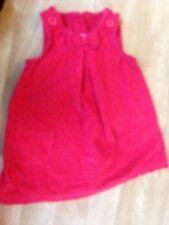 girls 3/6 month red dress