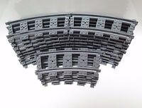 LEGO Train Track 26 x Curved Pieces  For 7938 7939 60051 60052 Used  53400  !!!