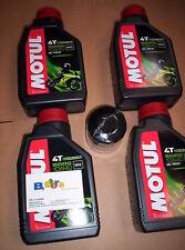4 LT KIT TAGLIANDO FILTRO OLIO MOTUL 5000 10W40 DUCATI 600 MONSTER 93-01
