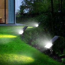 48-LED Solar Powered Flood Light Waterproof Spot Lamp Outdoor Garden Yard Lawn