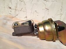 """Fairlane Ranchero Torino 7"""" dual diaphragm power brake booster & master cylinder"""