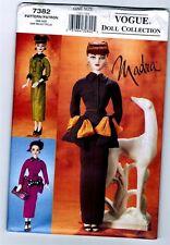 "Vogue 7382 Doll Collection MADRA Ashton Drake "" Circa 1950 "" Pattern New Uncut"